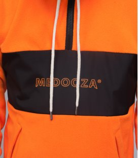 "Худи MEDOOZA ""Fleece Half-Zip"" (оранжевый)"