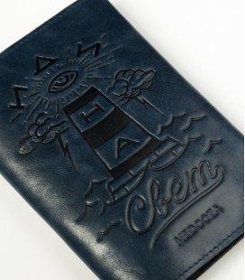 "Обложка на паспорт MEDOOZA ""Svet"" (navy)"