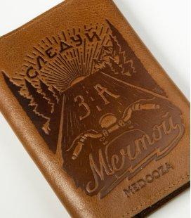 "Обложка на паспорт MEDOOZA ""Мечта"" (brown)"