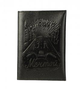"""Обложка на паспорт MEDOOZA """"Мечта"""" (black)"""