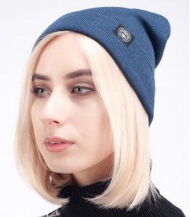 "Шапка MEDOOZA ""Classic Wool"" (dark blue)"