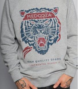 "Свитшот MEDOOZA ""Tiger"" (серый)"