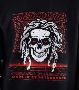 """Свитшот MEDOOZA """"Destroyer"""" (черный)"""
