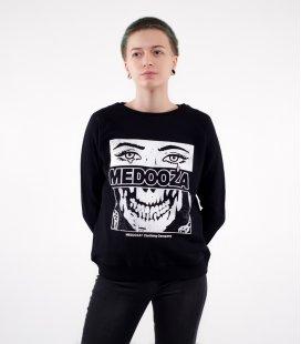 """Свитшот MEDOOZA """"Face"""" (W) (черный)"""