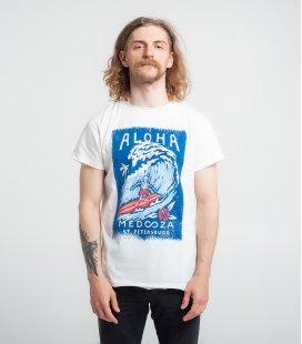 "Футболка MEDOOZA ""Aloha"" (экрю)"