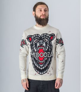 "Свитер MEDOOZA ""Bear"" (белый)"