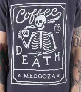 "Футболка MEDOOZA ""Coffee or Death II"""