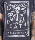 "Футболка MEDOOZA ""Coffee or Death II"""