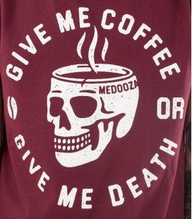 "Футболка MEDOOZA ""Coffee or Death"""