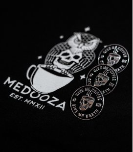 "Значок MEDOOZA ""Coffee Or Death"""