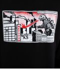 "Худи MEDOOZA ""Godzilla"" (черный)"