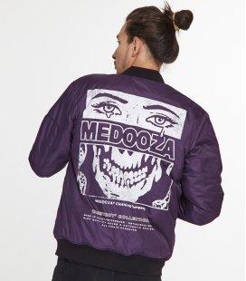 "Бомбер MEDOOZA ""Face"" (фиолет)"