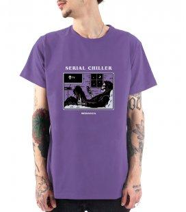"Футболка MEDOOZA ""Serial Chiller"" (фиолетовый)"