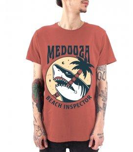 "Футболка MEDOOZA ""Shark"" (марсала)"
