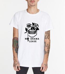 "Футболка MEDOOZA ""No Drama"" (белый)"