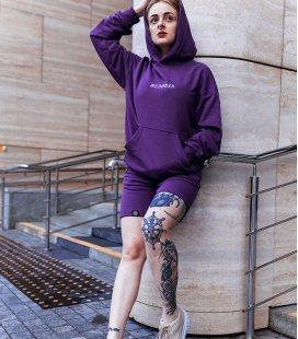 """Худи MEDOOZA """"Goth Logo"""" (фиолетовый)"""