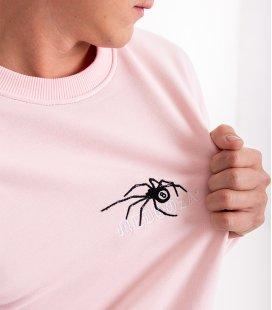 """Свитшот MEDOOZA """"Spider_embr"""" (розовый)"""