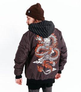 """Бомбер MEDOOZA """"Dragon"""" (коричневый)"""