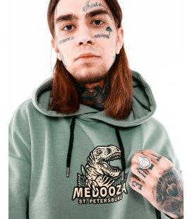 "Худи MEDOOZA ""Dinosaur"" (зеленый)"