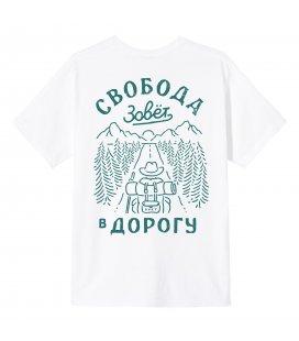 """Футболка SVET """"Свобода II"""" (белый)"""