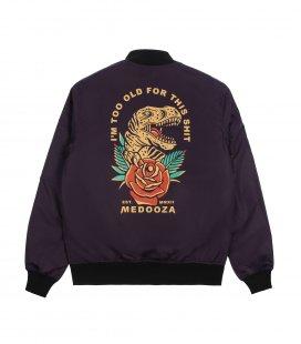 "Бомбер MEDOOZA ""Dinosaur"" (фиолетовый)"