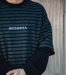 """Свитшот MEDOOZA """"Double Sleeve"""" (полоска/черный)"""
