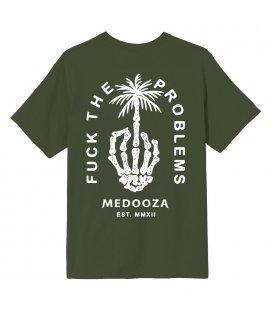 "Футболка MEDOOZA ""Fuck The Problems"" (оливка)"
