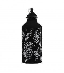 """Бутылка для воды MEDOOZA """"Tattoo"""" (черный)"""
