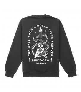 "Свитшот MEDOOZA ""Rock'n'Rolla III"" (темно-серый)"