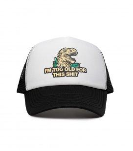 "Кепка-тракер MEDOOZA ""Dino"" (белый)"