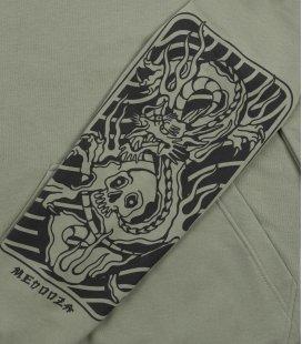 "Худи MEDOOZA ""Dragon Tattoo"" (шалфей)"