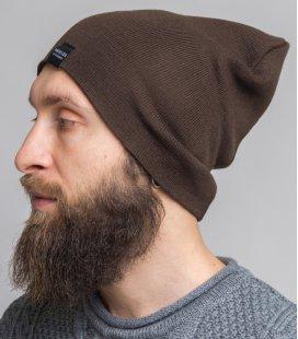 """Шапка MEDOOZA """"Classic Wool"""" (brown)"""