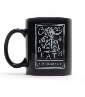 """Кружка MEDOOZA """"Coffee Or Death II"""" (фаянс)"""