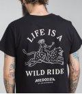 "Футболка MEDOOZA ""Wild Ride"" (черный)"