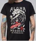 """Футболка MEDOOZA """"Aloha"""" (черный)"""