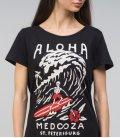 """Футболка MEDOOZA """"Aloha"""" (W) (черный)"""