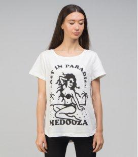 "Футболка MEDOOZA ""Paradise"" (W) (экрю)"